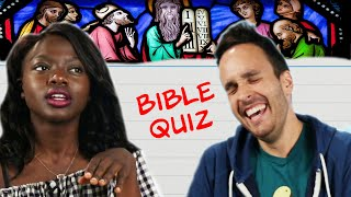People Raised Christian Take a Bible Quiz