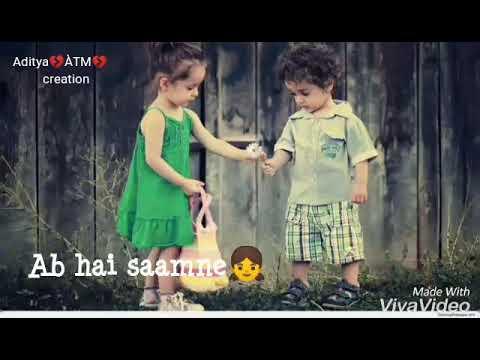 Ab Hai Samne Ishe Chuu Loon Zara || Whatsapp Sad Status || Aditya💔ÀTM💔 Creation
