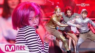 Golden Tambourine 에이핑크 남주, 섹시美 넘치는 맨발 퍼포먼스!  (feat.은광&창섭) 170216 EP.10