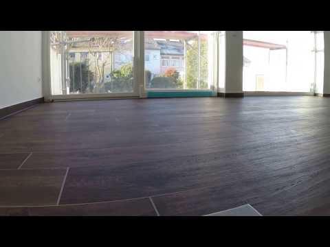 Wohnzimmer Bodenfliesen Holzoptik