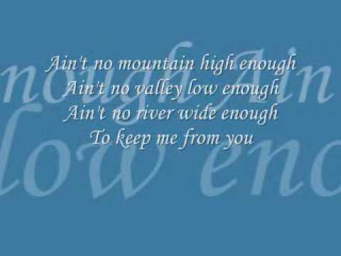 Ain't No Mountain High Enough - Play