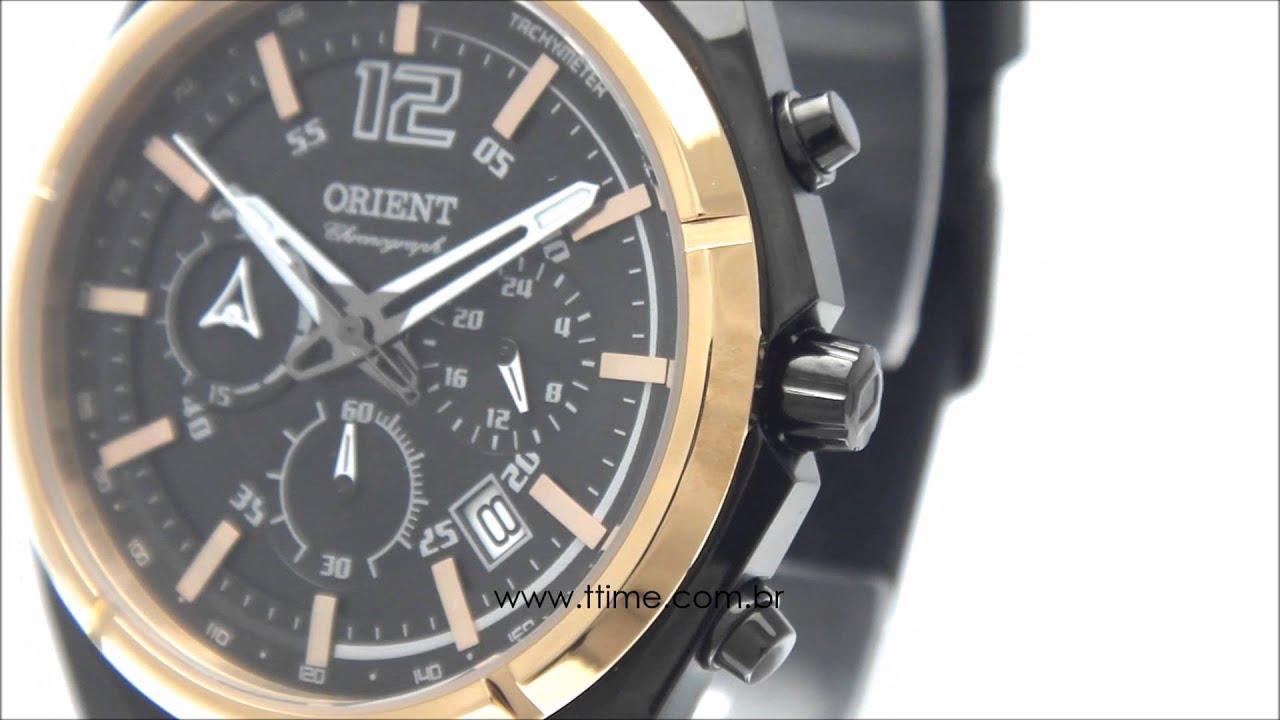be4714355d5 Relógio Masculino Orient MTSPC006 P2PX - YouTube