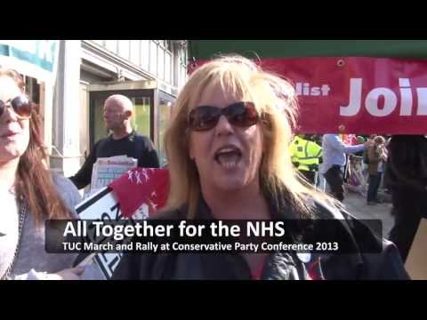 Socialist Party video: NHS March against Tories demands action