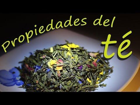 Propiedades del te y Tipos de te - Jandro Pereira