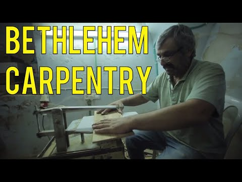 Bethlehem Carpenter Carries on Ancient Tradition