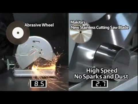 Stainless steel cutting blades from makita youtube stainless steel cutting blades from makita keyboard keysfo Choice Image