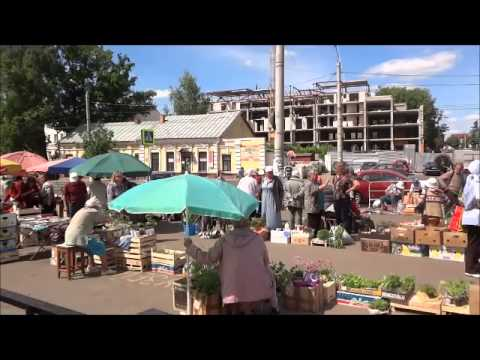 Checking Out The Market In Vitebsk, Belarus
