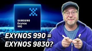 The Exynos 990, the Exynos 9830 and the Exynos 980