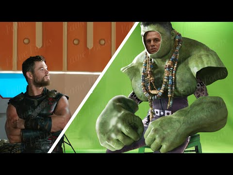 Thor Ragnarok WITHOUT VFX!   CGI Breakdown   Before & After  