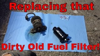 Replacing the Fuel Filter On the Worst 3000GT VR4! - YouTube | Gt 3000 Fuel Filter Location |  | YouTube
