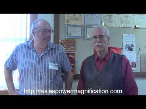SERPS Demo COP 47.9 (4790%) The Secret of Tesla's Power Magnification by Jim Murray & Paul Babcock