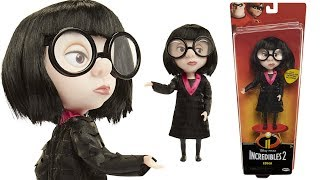 The Incredibles 2!! EDNA MODE Action Doll Figure from Jakks Pacific (Review & Unboxing)