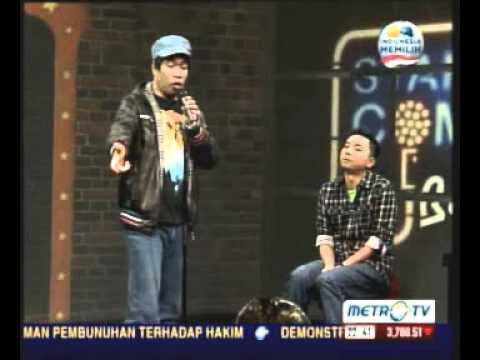 Stand Up Comedy - Temon dan Abdel- Battle of Comics Selasa 29 Januari 2013 Part 2