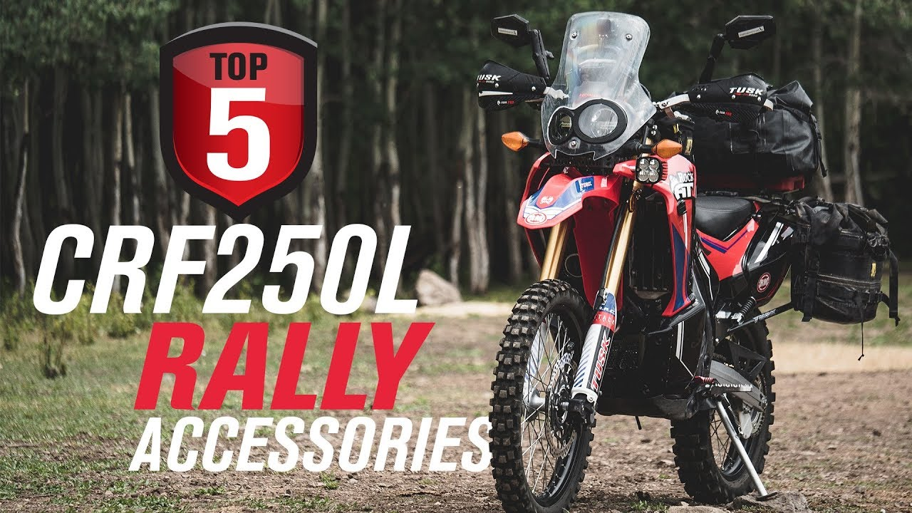 Top 5 Honda CRF250L Rally Accessories