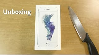 Apple iPhone 6S - Unboxing!