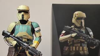 Hot Toys Star Wars Shoretrooper 1/6 scale figure review