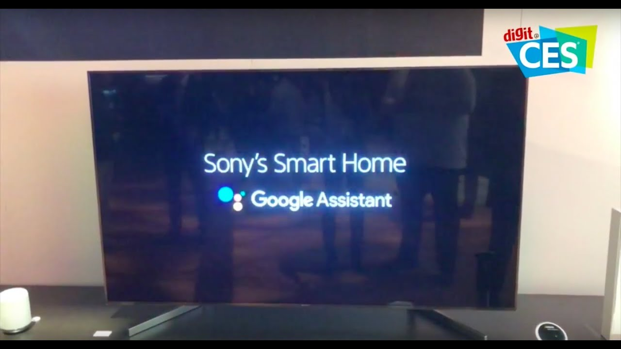 Sony smart TVs with Google Assistant coming soon