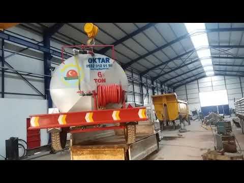 Tractor Water Tanker Loading Oktar  Factory