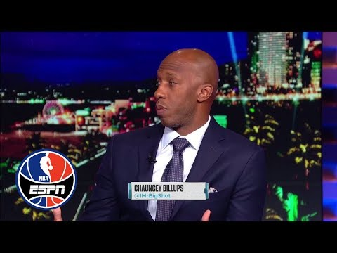 Chauncey Billups says Blake Griffin is the