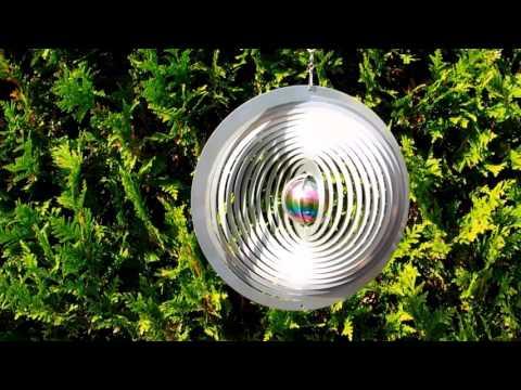 Feng shui gartendeko  Windspiel Galaxy von norax.de - Feng Shui Gartendeko - YouTube