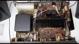Technics SU-V7 (Full HD) A Look Inside -Stereo Integrated DC Amplifier