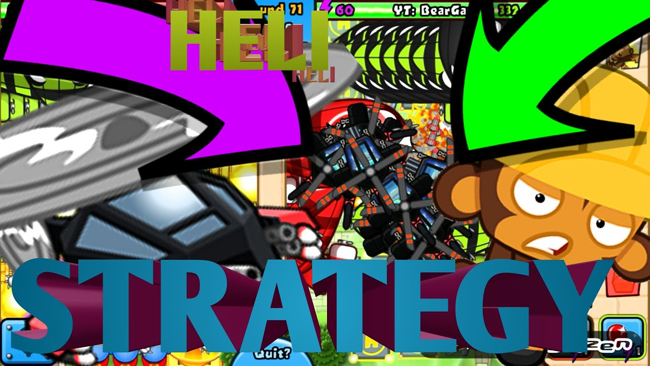 Bloons td battles epic heli strategy youtube
