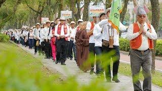 台北有愛地球平安 大悲行腳