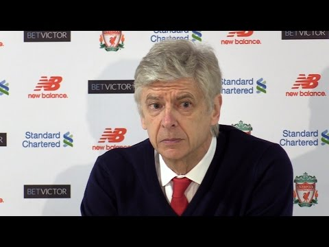 Liverpool 3-1 Arsenal - Arsene Wenger Full Post Match Press Conference