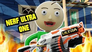 Baldi's Basics NERF ULTRA ONE - Hello Neighbor Mod