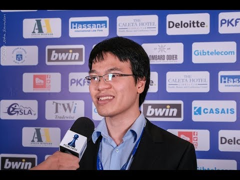 Round 4 Gibraltar Chess post-game interview with Liêm Lê Quang