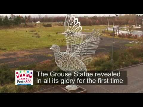 The Making of the Grouse Statue