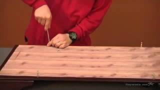 Assembly Video Sydney Cedar Hope Cedar Chest - Cherry Finish
