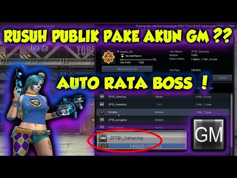 HACK CHAR GM? DI BUAT RUSUH PUBLIK?? - POINTBLANK INDONESIA