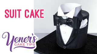 SUIT CAKE Tutorial | Yeners Cake Tips with Serdar Yener from Yeners Way