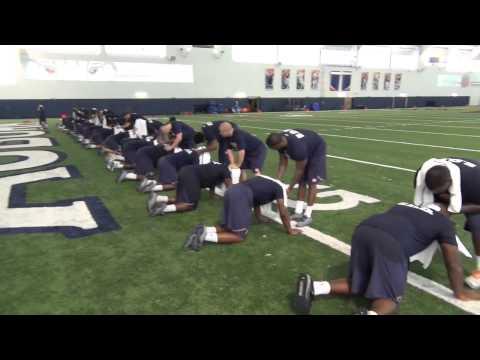 Auburn Football Training 2014