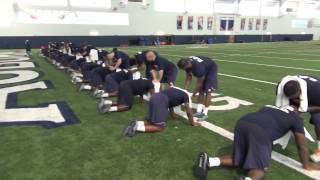 Auburn Football Training 2014