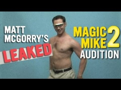 Matt McGorry's Leaked Magic Mike 2 Audition