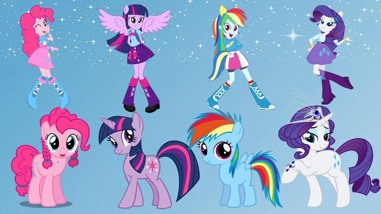 My Little Pony Transforms into Equestria Girls. MLP ...
