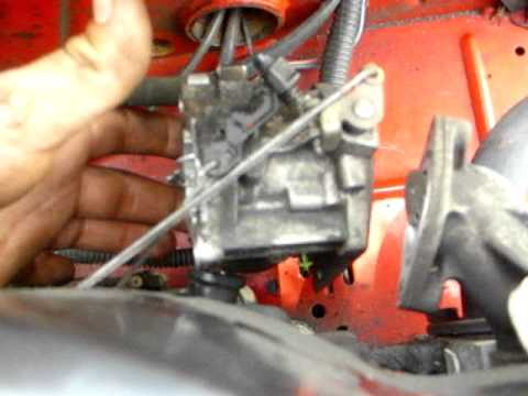 hqdefault snapper electric start riding mower carb clean and removal youtube snapper sr1433 wiring diagram at n-0.co