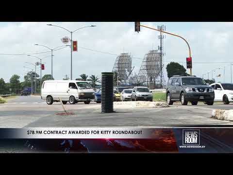 $78 9M CONTRACT AWARDED FOR KITTY ROUNDABOUT
