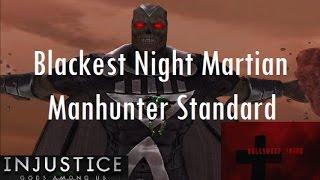 Injustice Gods Among Us iOS - Blackest Night Martian Manhunter Full Standard Difficulty