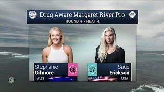 2016 Drug Aware Margaret River Pro (W): Round 4, Heat 4 Video