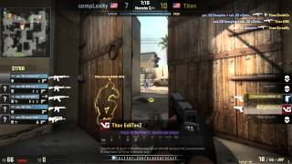 (CSGO-VOD) Titan vs compLexity - ESEA Final Winner Bracket - Dust2