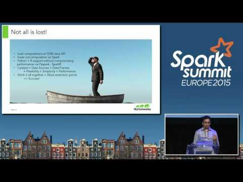 Magellan: Geospatial Analytics on Apache Spark