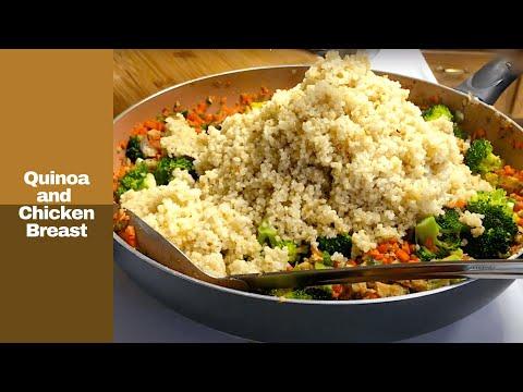 Recipe #2: Chicken Breast and Quinoa Recipe