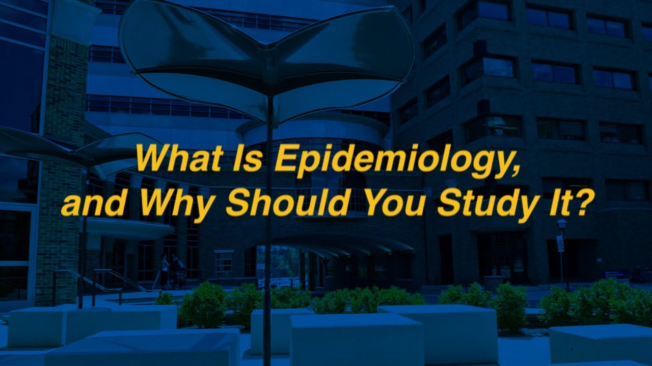 what is epidemiology, and why should you study it? - youtube, Human Body