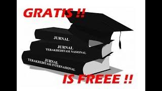 Gambar cover CARA DOWNLOAD JURNAL INTERNASIONAL GRATIS