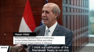 Indonesia Joins Marrakesh Treaty
