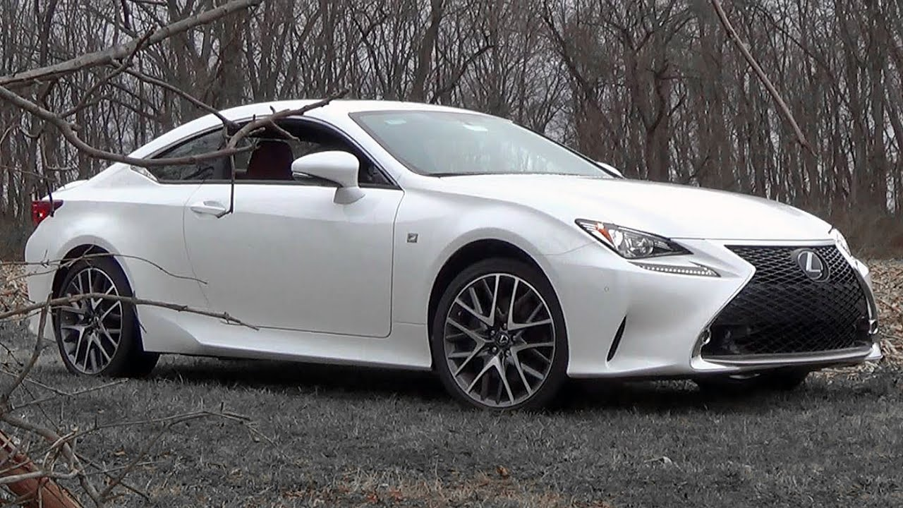 2016 Lexus Rc 350 F Sport Review