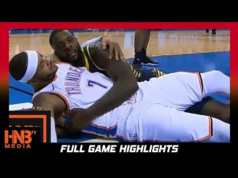 Carmelo Anthony (28 pts) Full Highlights vs Pacers / Week 2 / Pacers vs Thunder / 2017 NBA Season
